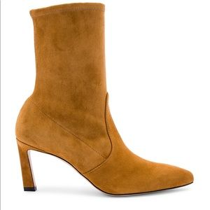 Stuart Weitzman Rapture tan booties 6.5